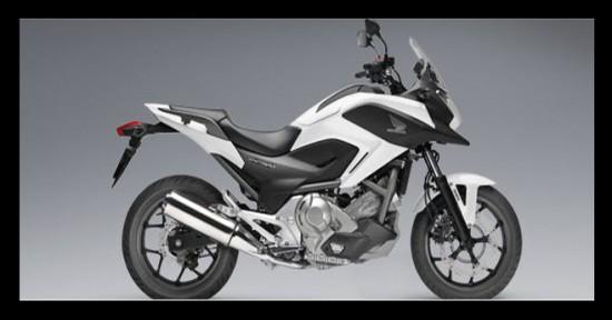 Honda NC700X 2013, color blanco