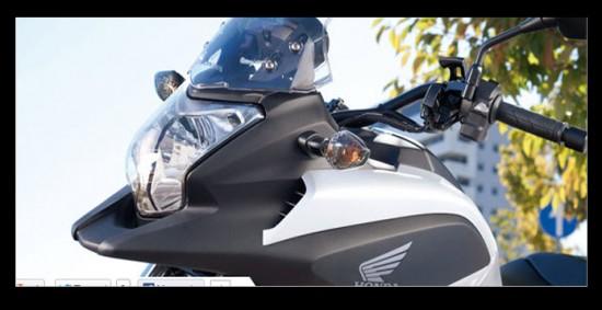 Honda NC700X, carenado