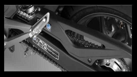 Honda NC700X, tapa cadena