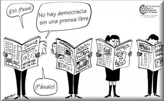 Imagen Día Mundial de la Libertad de Prensa