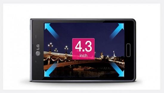 LG Optimus L7, diseño
