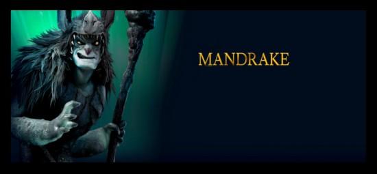 Mandrake personaje película El Reino Secreto 3D