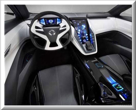 Nissan Friend Me Concept, diseño interior