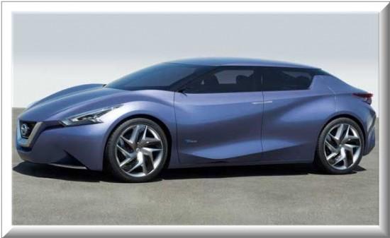 Nissan Friend Me Concept, vista lateral