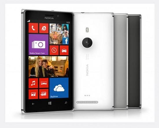 Nokia Lumia 925, colores