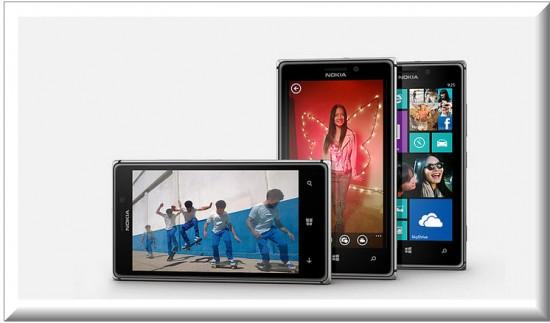 Nokia Lumia 925, diseño exterior