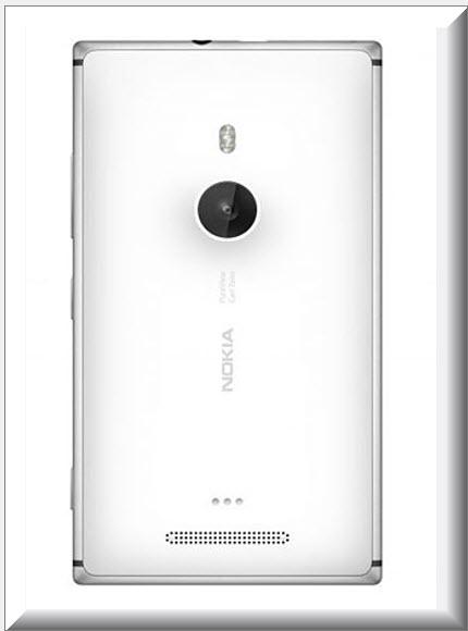 Nokia Lumia 925, vista parte trasera