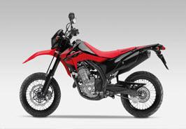 Nueva Honda CRF250M