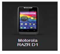 Nuevo Motorola RAZR D1
