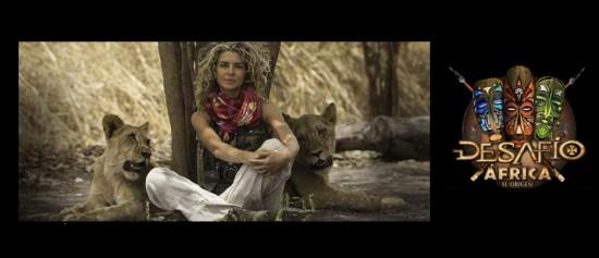 Presentadora Margarita Rosa de Francisco Desafío África
