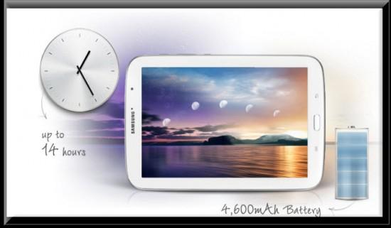 Samsung Galaxy Note 8 Wi-Fi, bateria