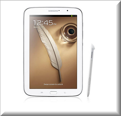 Samsung Galaxy Note 8 Wi-Fi blanco, S-Pen