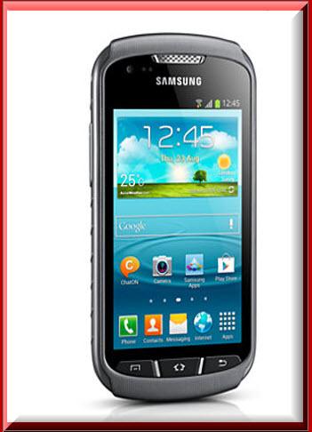 Samsung Galaxy Xcover 2, diseño exterior