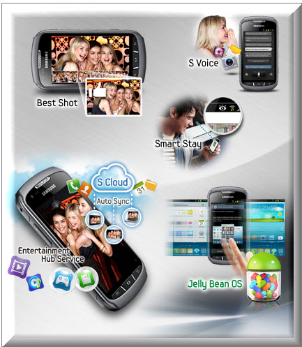 Samsung Galaxy Xcover 2, servicios premium