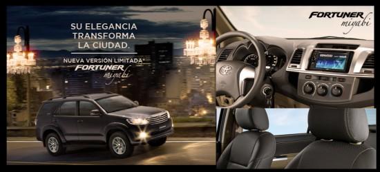 Nueva Toyota Fortuner Miyaby