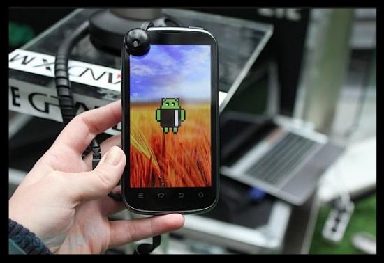 ZTE Grand XM, Android ICS 4 0 4