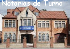 Notarias en turno – Bogota