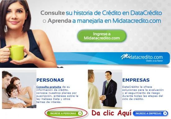 consulta datacredito gratis en internet 2013
