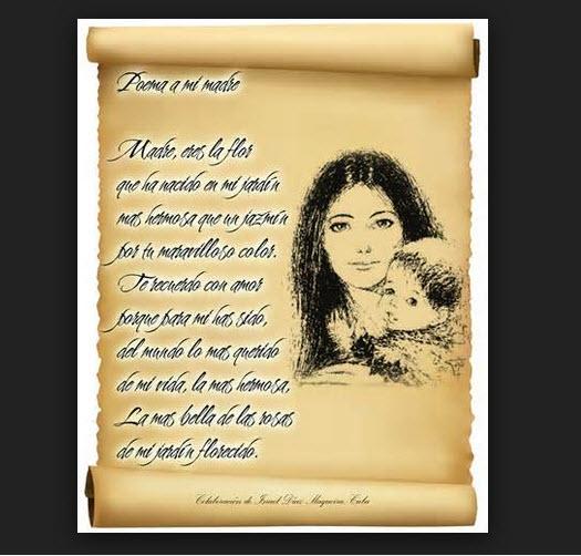 Poesías para el día de la madre > Poemas del Alma
