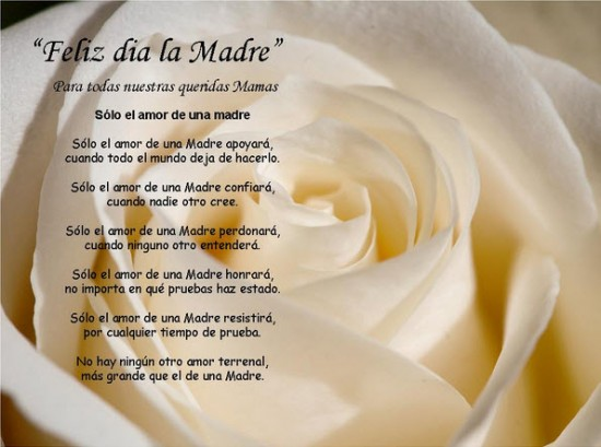 Poemas del dia de la madre