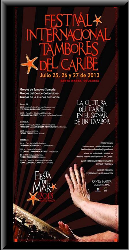 Festival Internacional de Tambores del Caribe 2013 en Santa Marta