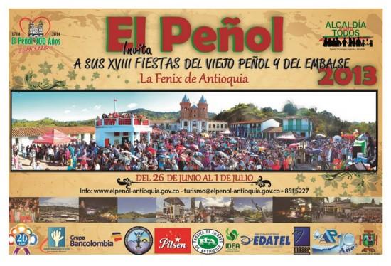 Fiestas del Viejo Peñol y del Embalse en Antioquia 2013