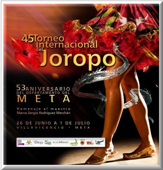 Torneo Internacional del Joropo en Villavicencio, Meta 201