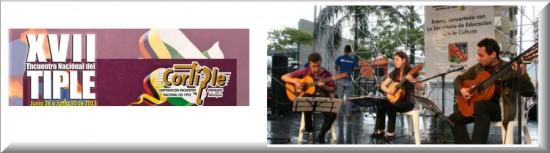 Agrupaciones invitados Encuentro Nacional del Tiple 2013