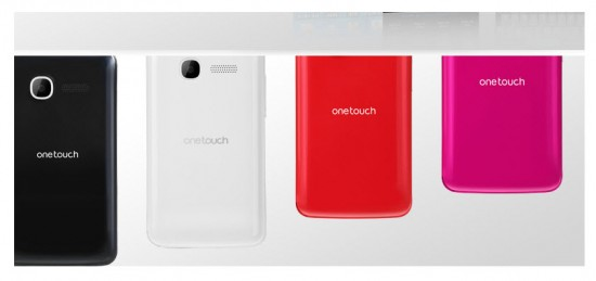 Alcatel One Tocuh T Pop, colores