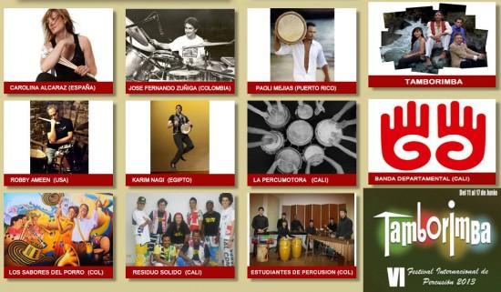 Festival Internacional de Percusión Tamborimba 2013