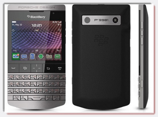 Blackberry Porsche Design P 9981