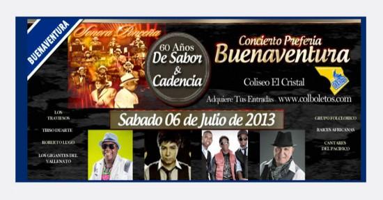Concierto Pre Feria de-Buenaventura 2013