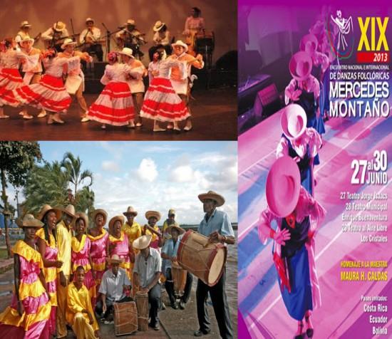 Encuentro de Danzas  Folclóricas Mercedes Montano 2013