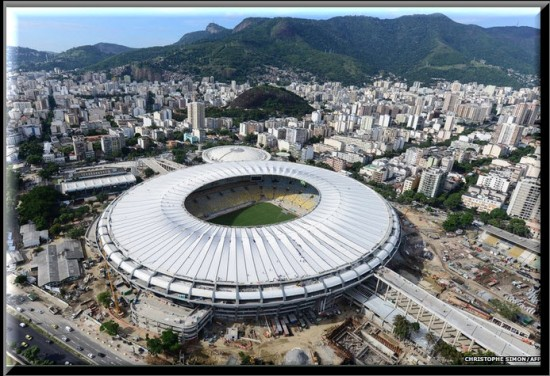 Estadio Maracaná sede Río de Janeiro
