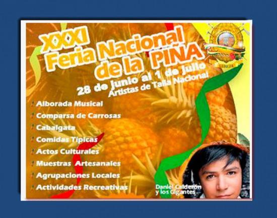 Feria Nacional de la Piña 2013