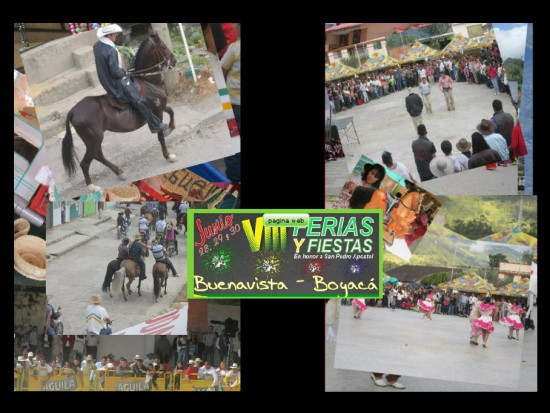 Ferias y Fiestas de San Pedro Apóstol en Buenavista 2013
