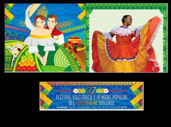 Festival Folclórico y Reinado Popular del Sanjuanero Huilense 2013