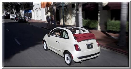Fiat 500 Cabrio 2013, potencia
