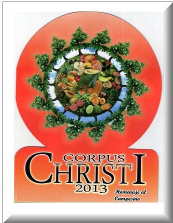 Fiestas Corpus Christi en Anolaima 2013
