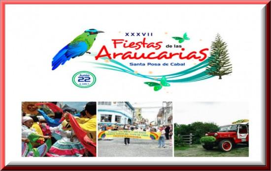 Fiestas de las Araucarias en Santa Rosa de Cabal 2013