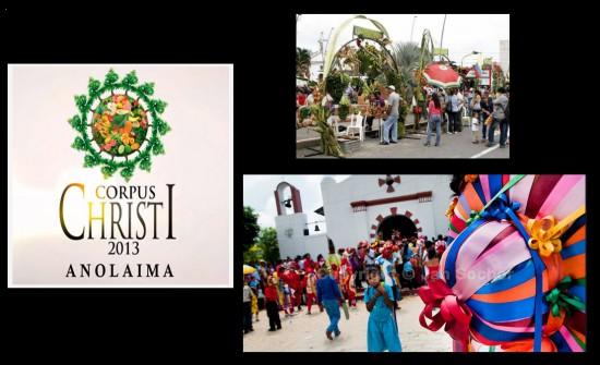 Fiestas Corpus Christi en Anolaima 2013 en Cundinamarca