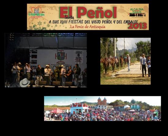 Fiestas del Viejo Peñol y del Embalse 2013