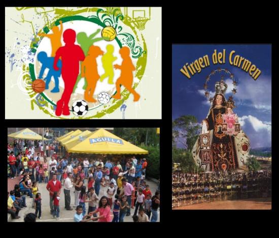 Fiestas en Honor a la Virgen del Carmen en Soatá 2013
