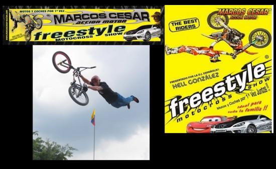 Freestyle motor show en Medellin 2013