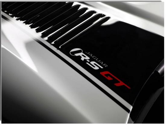 Jaguar XKR-S GT, calcomanía