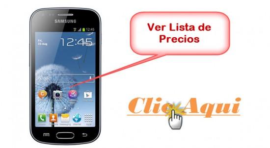 Listado de Ofertas Samsung Galaxy S Duos