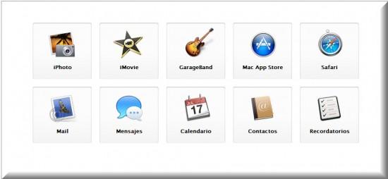 Nueva Apple MacBook Air, apps integradas