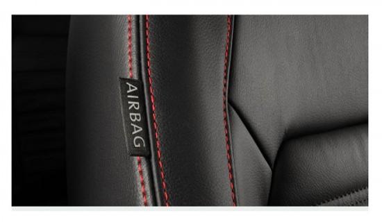 Volkswagen Jetta GLI, airbags