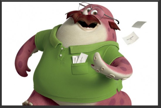 Personaje de Monsters University Don Carlton
