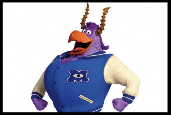 Personaje de Monsters University Brock Pearson